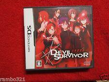 Shin Megami Tensei: Devil Survivor (Nintendo DS, 2009) JAPANESE JRPG RPG