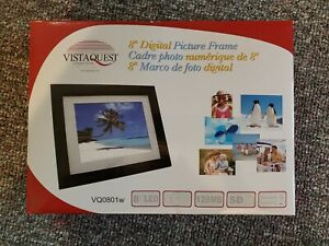 """Vista Quest 8"""" Digital Picture Frame LED"""