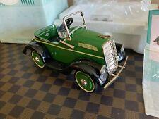 Hallmark Kiddie Car Classics Pedal 1935 Steelcraft Murray Luxury - Serial #'ed!