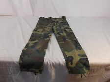 Size 12 Junior GI BDU Woodland Camouflage paintball hunting airsoft Pants 6364