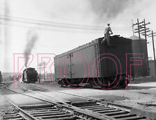 Canadian Pacific Railways (CP) Boxcar 5548 & Engine 886 at Woodstock - 8x10