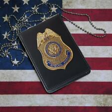 Fast Furious Luke Hobbes DSS Badge ID Holder Special Agent Badge Office ID