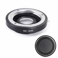 Ring Adapter F MD MC Lens to Canon EOS EF Mount Camera 7D 6D 650D Mark II III 5D