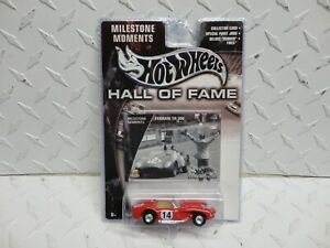 Hot Wheels Hall of Fame Red Ferrari TR250 w/Real Riders
