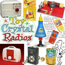 Mid-Century vintage TOY CRYSTAL RADIOS #2 collector book baby boom space age
