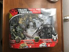 Transformers 2007 Bonecrusher,Brawl,Jazz Exclusive Set With Poster