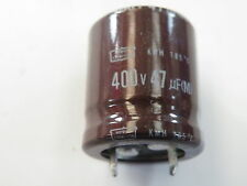 Snap in Can Electrolytic Capacitor Nippon 400v 47uF SN400-47u EC06