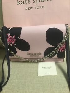 kate spade new york Pink Cameron grand flora convertible crossbody NWT $279.00