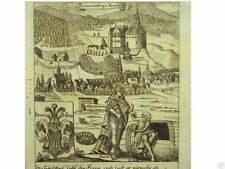 Orig Kupferstich Zittau.Tagebuch  JOHANNISBERG JAUERNIK