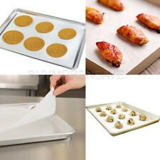 Kitchen Parchment Paper Oven Cookie Cake Baking Sheets Pan Liner 12x15 10 Pack