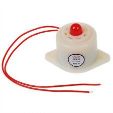 BJ-3 AC220V Industrial LED Blinker Red Alarm Siren Buzzer 100dB White N4S9