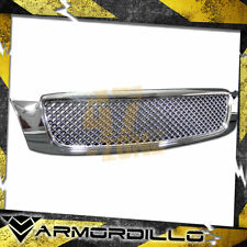 For 2000-2005 Cadillac Deville ABS Replacement Mesh Grille Chrome