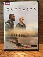 Outcasts (DVD) Discs M Daniel May Amy Manson BBC