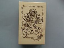 Creative Images Rubber Stamps Cistamps Apple Pie New wood Stamp