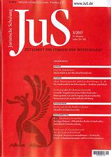JuS Juristische Schulung 3/2017 - Zeitschrift für Studium und Referendariat