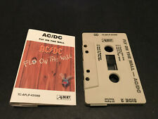 AC/DC ACDC FLY ON THE WALL AUSTRALIAN CASSETTE TAPE ALBERT EMI