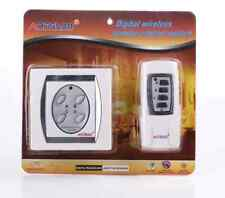 4 Way Digital Wireless Remote Control Panel Stick To Wall Switch Home Lighting