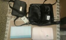 Backpack, Hip Pack, Purse Cosmetic Bag Lot of 4