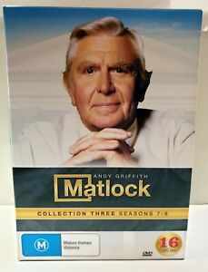 Matlock Collection 3 Seasons 7-9 DVD Box Set