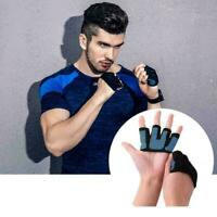 Rutschfeste Handschuhe Sport Fingerlose Hand Trainingshandschuhe N3D4 U9G6 C1P2