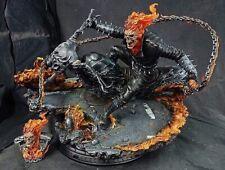 Pre Order Private Custom Ghost Rider 1/4 Scale Ploystone Statue