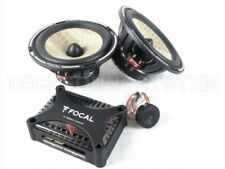 "FOCAL EXPERT PS165FX FLAX CAR SPEAKERS 2 way component kit 6,5""  *ORIGINAL NEW*"