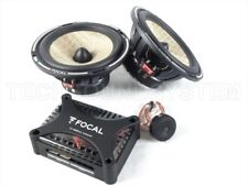 "Focal Expert ps165fx Flax car speakers 2 way component kit 6,5"" * ORIGINAL NEW *"