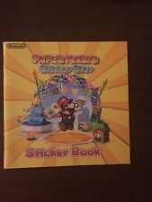 "Nintendo Paper Mario Sticker Star Sticker Book Rare Promotional Item ""Brand New"""