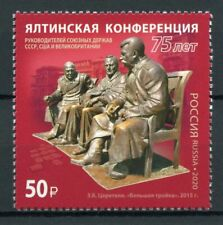 Russia Military & War Stamps 2020 MNH WWII WW2 Yalta Conference Churchill 1v Set