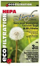 Johnny Vac 440H HEPA central vacuum bags (6-pk) - Replaces Nutone 391 & Hoover