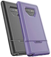 Samsung Galaxy Note 9 Heavy Duty Case, Excellent Impact Protection -Rebel Purple
