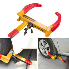 Heavy Duty Wheel Lock Clamp Truck Anti-Theft Tire Claw RV Trailer Boot For Car