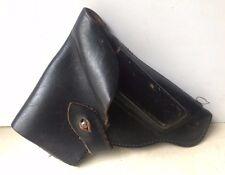 Vintage Military WWII Eastern Black Genuine Leather Flap Holster Makarov Pistol