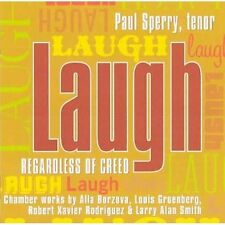 Paul Sperry - Laugh, Regardless of Creed (CD, 2005, Albany Records) new