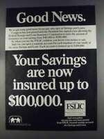1980 Federal Savings and Loan Insurance Corporation Ad