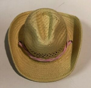 """AMERICAN GIRL DOLL """"Nicki's Straw Ranch Cowgirl Hat"""" for 18"""" Doll New Retired"""