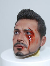 HOT TOYS MMS209 - Iron Man 3 Tony Stark (The Mechanic) 1/6th scale Head Sculpt