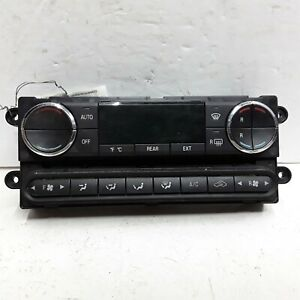 08 09 Ford Taurus X automatic dual zone heater AC control with rear controls OEM
