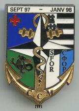 Insigne opex , Cie. Chirurgicale Mobile / SFOR. - 9 BIMA. ( Sept. 97 / Jan.98 )