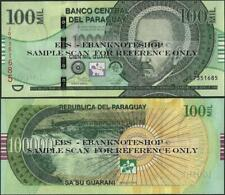 Banknote - Paraguay,P240,100000 Guarani,2018,UNC,Series J @ Ebanknoteshop