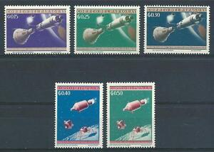 Paraguay 1964 Sc# 806-10 Space Gemini Apollo & Lunar moduls MNH