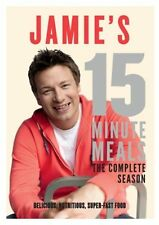 JAMIE'S 15 MINUTE MEALS : COMPLETE (Jamie Oliver)-  DVD  UK Region 2 Compatible
