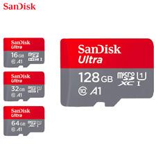 SanDisk 16GB 100MB/s 32GB 64GB 128GB Micro SD clase 10 Tarjeta de memoria Ultra