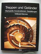 Treppen und Geländer 1971 Werkstoffe Konstruktionen Gestaltungen