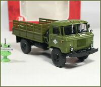 1:43 GAZ 66 4x4 Militar Fallschirmjäger LKW russian flatbed truck USSR DDR UdSSR