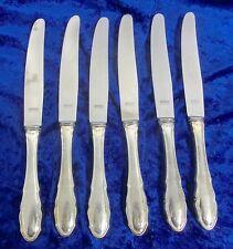 Auerhahn 217 Besteck 6 Messer Menümesser Speisemesser Art.Nr.3035/12.17k