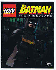 Lego Batman Out and In and In and Out the Video Game 2008 Promotional Mini Comic