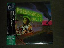 The Kinks Preservation Act 2 Japan Mini LP Bonus Tracks sealed
