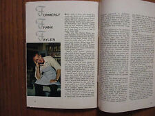 Jan 19, 1963 TV Guide(FRANK FAYLEN/CAR 54, WHERE ARE YOU?/MIYOSHI UMEKI/TONY DOW