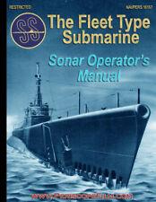 The Fleet Type Submarine Sonar Operator Manual